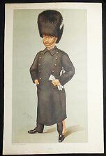 """""""Glick"""" Count Albert Edward Wilfrid Gleichen Vanity Fair 1898 Leslie Ward VG"""