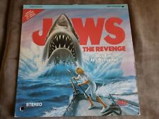 Laserdisc Jaws The Revenge Videodisc Rare Shark Movie