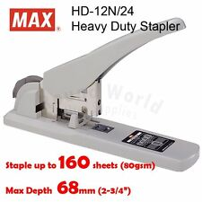 MAX HD-12N/24 Heavy Duty Stapler (Staple up to 160 pages)
