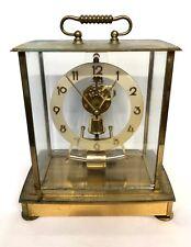 German Kieninger & Obergfell 4 Glass Electric Kundo Clock for Spares or Repair