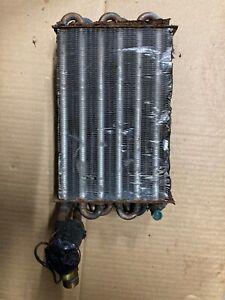 genuine porsche 911 930 air conditioning evaporator 74-89 wo/blower box