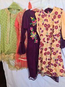 Asian/indian/pakistani wedding  dress for Girls.size  34 bundle