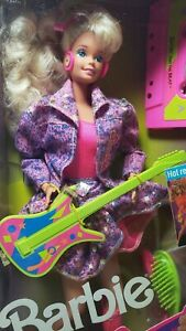 Barbie And The Beat (1989) Barbie Doll Glow in the Dark Costume NRFB New