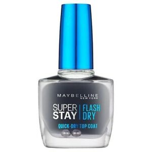 Maybelline SuperStay Flash Dry Quick-Dry Top Coat - 10ml Clear