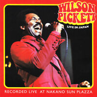 Wilson Pickett - Live in Japan (2014)  2CD  NEW/SEALED  SPEEDYPOST