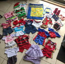 Huge lot of Build A Bear clothes 5 pairs of shoes, 10+ outfits and more