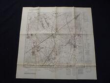 Landkarte Meßtischblatt 3743 Beelitz, Heilstätten, Klaistow, Neuseddin, 1938