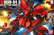 Gundam HGUC MSN-04 Sazabi Char's Counterattack 1/144 Bandai Model Kit