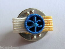 Rosette pin's Neuve de GRAND OFFICIER Ordre National du Mérite, diamètre: 6 mm.