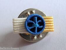 Rosette pin's Neuve de GRAND OFFICIER Ordre National du Mérite, diamètre: 6 mm