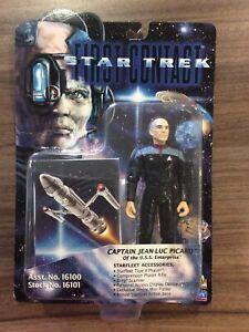 Vintage Star Trek First Contact Action Figure - Captain Jean-Luc Picard