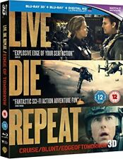 Live Die Repeat  Edge of Tomorrow [Blu-ray 3D   Blu-ray] [2014] [Region Free]