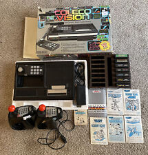 Coleco Vision The Arcade Quality Video Game System/Console 1982 Star Wars Bundle