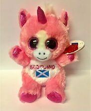 Unicorn 15cm Animotsu Beanie Keel Soft Toys Scotland 035