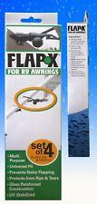 FLAP-X PACK OF 4 Caravan Awning Anti-flap Kit. RV Awning De Flapper by TARPLINE