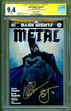 Dark Nights Metal #1 Aspen Batman Variant Sigs Greg Capullo Scott Synder CGC 9.4