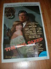 Big Sleep-Mitchum- 1978 One Sheet