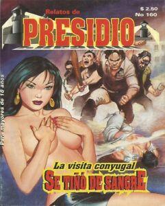 RELATOS DE PRESIDIO MEXICAN COMIC #160 MEXICO SPANISH HISTORIETA 1997 CRIME