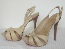 Stunning L.A.M.B. by Gwen Sefani, as new Leather Stilettos, size 39