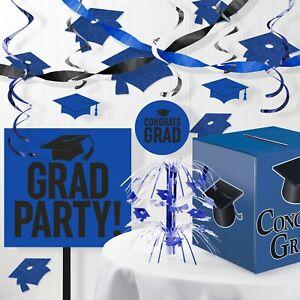 Blue Graduation Decorations Kit
