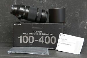 Fujinon Fuji XF 100-400mm F4.5-5.6 R LM OIS WR Super Telephoto Lens  EXCELLENT