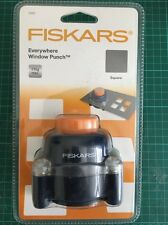Fiskars Shape Cutter Everwhere Square Window Punch New in sealed packet 5563