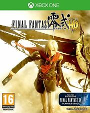 XBOX ONE JUEGO FINAL FANTASY type-0 HD incl. FF XV 15 DEMO