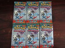 POKEMON  XY  POINGS FURIEUX  :  6  BOOSTER  DE 3 CARTES