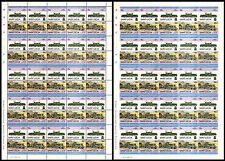 Swiss SBB CROCODILE (Krokodil) Ce 6/8 Electric Locomotive Train Stamp Sheets