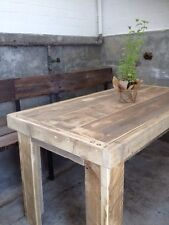 BEAUTIFUL RUSTIC OLD WORLD RECLAIMED TIMBER  TABLES MADE TO ANY SIZE YOU REQUIRE