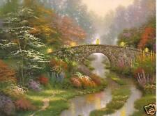 """Thomas Kinkade """"Stillwater Bridge"""" Two (2) Postcards *New*"""