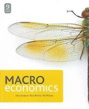 Macroeconomics + Connect Plus by John Jackson, Ron McIver, Edgar Wilson (Book, 2