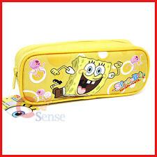 Nick SpongeBob Pencil Case Cosmetic Bag Yellow Cavas