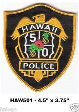 "Hawaii Five-O - 4.5""  PATCH - HAW501"