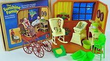 Familie Sunshine Familiy Baby Raum Room in OVP 1977 Barbie Mattel RAR 02-A-SF