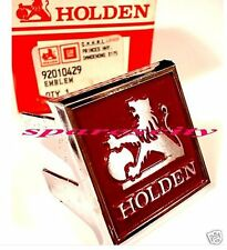 HOLDEN BONNET MOULD BADGE DIECAST EMBLEM TE Gemini SL & SL/X NOS GMH 92010429