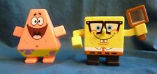 Spongebob Squarepants and Patrick Star Burger King BK Club Figures Toy 2009