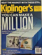 Kiplinger's Sept 2017 You Can Make A Million Beat The Market FREE SHIPPING sb