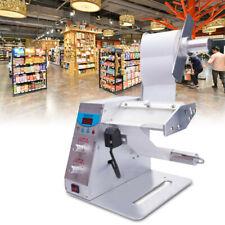 110v60hz Automatic Auto Label Dispenser Electric Stripper Separating Machine