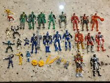 Power Rangers Figures & Accessory 33 Piece Lot Nice Condition 90s 2000s Bandai!