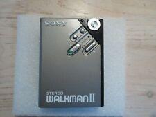 Vintage SONY WM-2 Stereo Walkman Cassette Player  - New Belt - mint