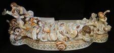 Rare German Meissen porcelain 2 pc base for Triumph of Venus. 2nd ½ 19th c.