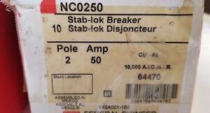 NC0250 FEDERAL 50 AMP STABLOK CIRCUIT BREAKER