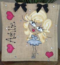 Personalised Jute Bag Teen Gift 32cm x 32cm