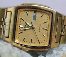 Vergoldete mechanisch - (automatische) Armbanduhren im Vintage-Stil