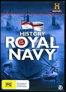 History Of The Royal Navy (DVD) - Region 4