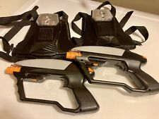 Lazer Tag Command Game (Astronomical Toys) 2 Guns & 2 Vests (Vintage)