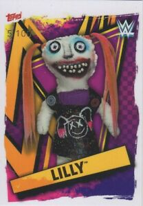 Topps WWE Slam attax 2021 - ULTRA RARE LILLY Firefly Funhouse Card #12 of 100