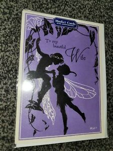 Wife anniversary card NEW - fairy