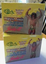 (2) 1990 CLASSIC WRESTLING SETS - SERIES 2 WWE WWF SEALED HOGAN MACHO ULTIMATE